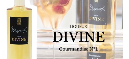 New : Divine, the liqueur Devaux for our Champagnes Rosés !