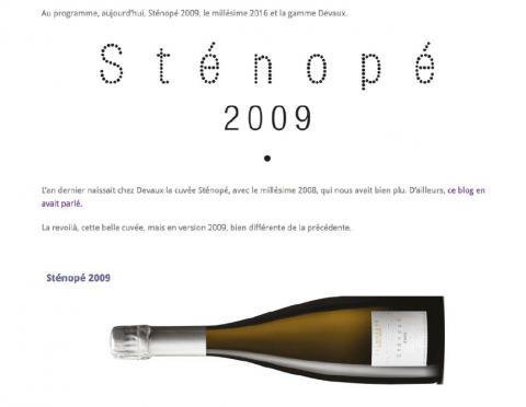 Les 5 du Vin - Devaux's champagnes