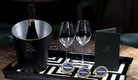 Champagne Devaux and Caviar tasting in London