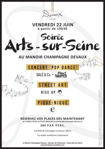 Arts-sur-Seine evening