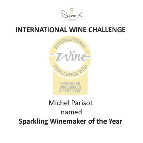 Michel Parisot : Sparkling Winemaker of the Year