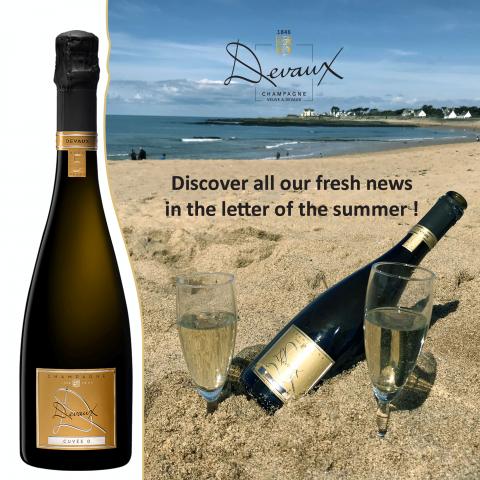 Champagne Devaux  Newsletter- Summer 2020