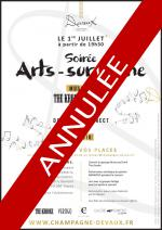 CANCELLATION Arts-sur-Seine event July 1