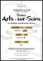 Arts-sur-Seine evening